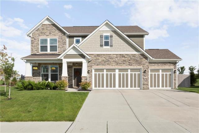 10573 Stableview Drive, Fishers, IN 46040 (MLS #21635362) :: FC Tucker Company