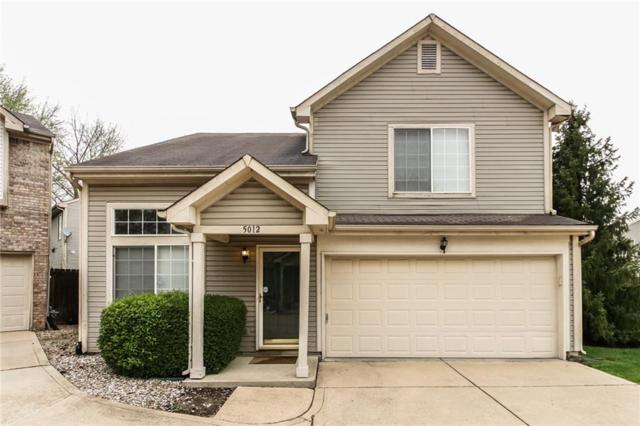 5012 Clarkson Drive, Indianapolis, IN 46254 (MLS #21635403) :: Richwine Elite Group