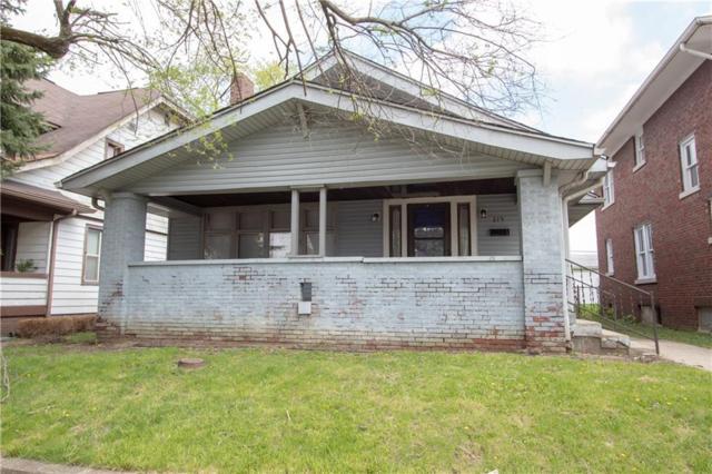 315 N Grant Avenue, Indianapolis, IN 46201 (MLS #21635630) :: David Brenton's Team