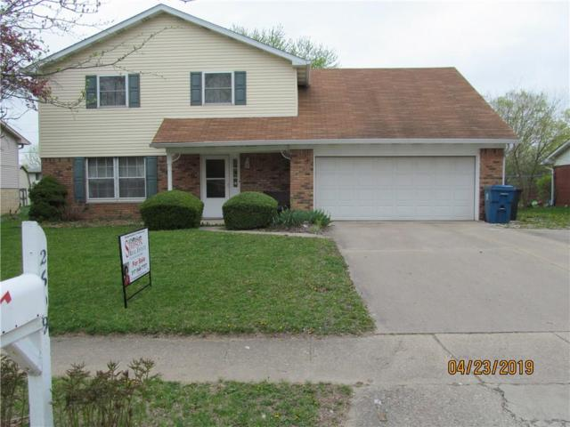 2609 N Saturn Drive, Indianapolis, IN 46229 (MLS #21635966) :: The Indy Property Source