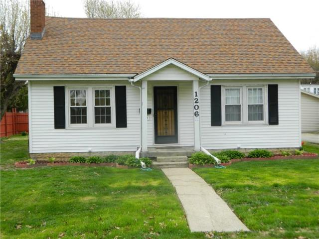 1206 Fairfax Street, Anderson, IN 46012 (MLS #21636071) :: The Evelo Team