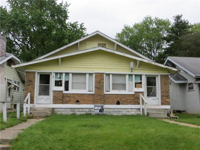 813 N Denny Street, Indianapolis, IN 46201 (MLS #21636293) :: AR/haus Group Realty