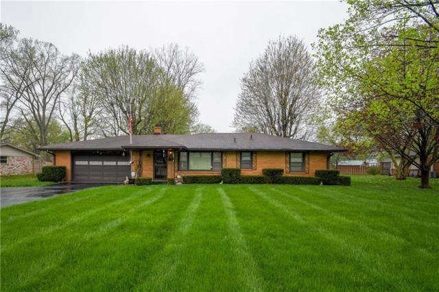 5938 Pine Hill Drive, Indianapolis, IN 46235 (MLS #21636478) :: David Brenton's Team