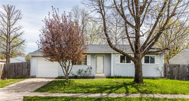 919 Waring Drive W, Indianapolis, IN 46229 (MLS #21636812) :: The Indy Property Source