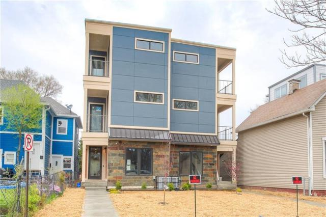 910 Woodlawn Avenue #910, Indianapolis, IN 46203 (MLS #21636831) :: AR/haus Group Realty