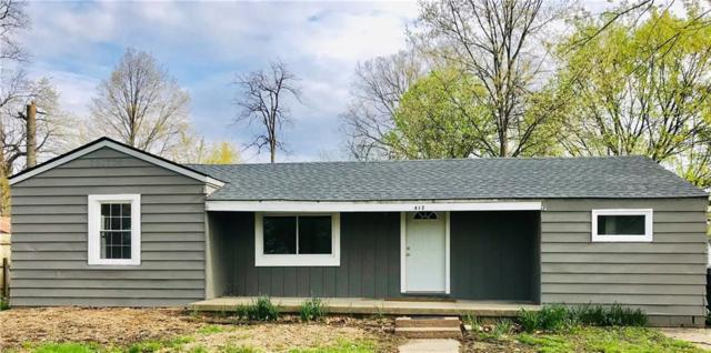 412 Vasbinder Drive, Chesterfield, IN 46017 (MLS #21637017) :: The ORR Home Selling Team