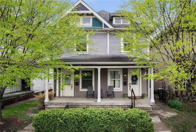 1405-1407 Marlowe Avenue, Indianapolis, IN 46201 (MLS #21637562) :: Mike Price Realty Team - RE/MAX Centerstone