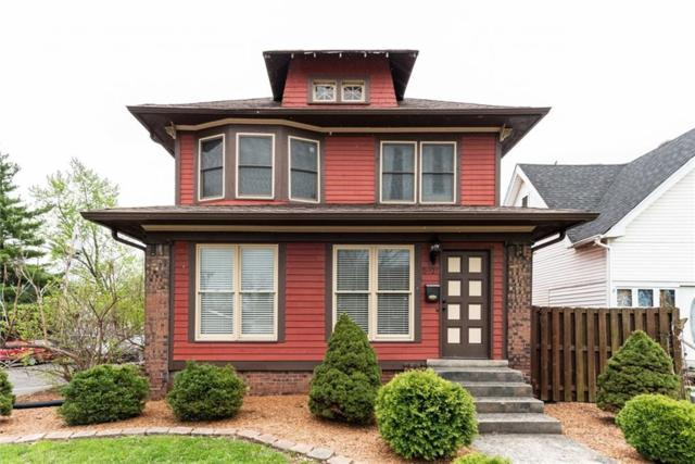 5921 E Washington Street, Indianapolis, IN 46219 (MLS #21637604) :: The Indy Property Source