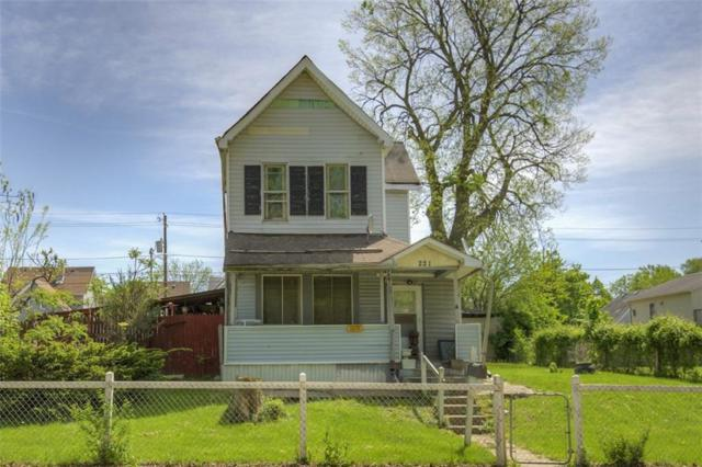 221 & 225 N State Avenue, Indianapolis, IN 46201 (MLS #21638287) :: HergGroup Indianapolis