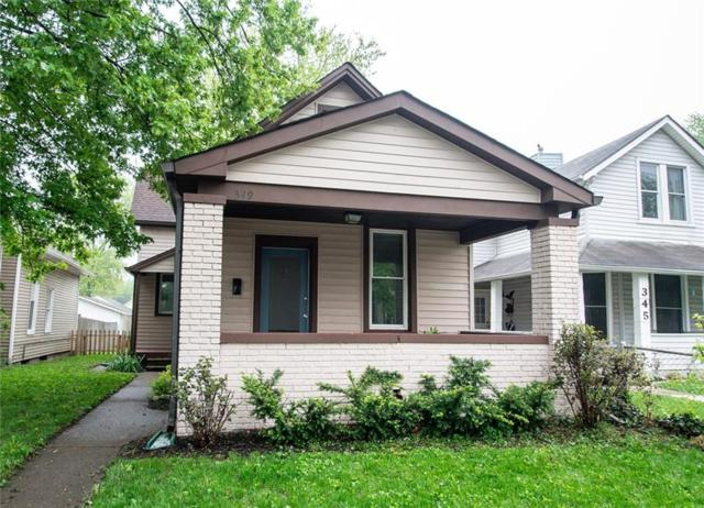 349 Lincoln Street, Indianapolis, IN 46225 (MLS #21638484) :: David Brenton's Team
