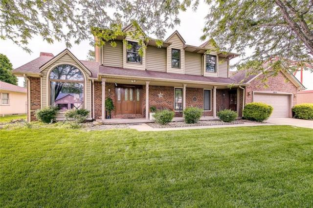 906 Hummingbird Lane, Columbus, IN 47203 (MLS #21638537) :: Richwine Elite Group