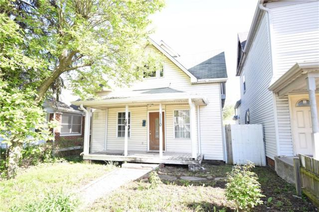 1110 W 29th, Indianapolis, IN 46208 (MLS #21639190) :: AR/haus Group Realty