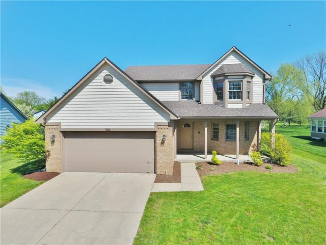 7525 Geist Estates Drive, Indianapolis, IN 46236 (MLS #21639402) :: Mike Price Realty Team - RE/MAX Centerstone
