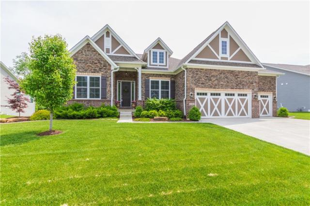 6159 Rolling Rock Lane, Noblesville, IN 46062 (MLS #21639403) :: Mike Price Realty Team - RE/MAX Centerstone