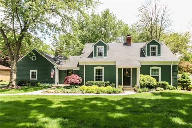 8895 Spring Mill Road, Indianapolis, IN 46260 (MLS #21639455) :: The Indy Property Source