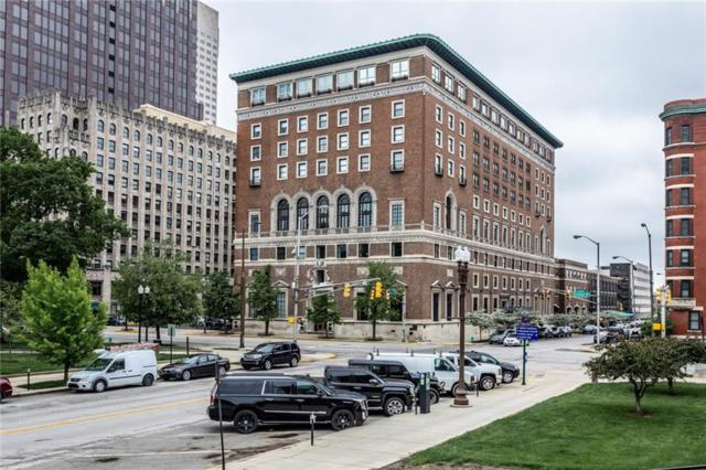 350 N Meridian Street #804, Indianapolis, IN 46204 (MLS #21640077) :: The Indy Property Source
