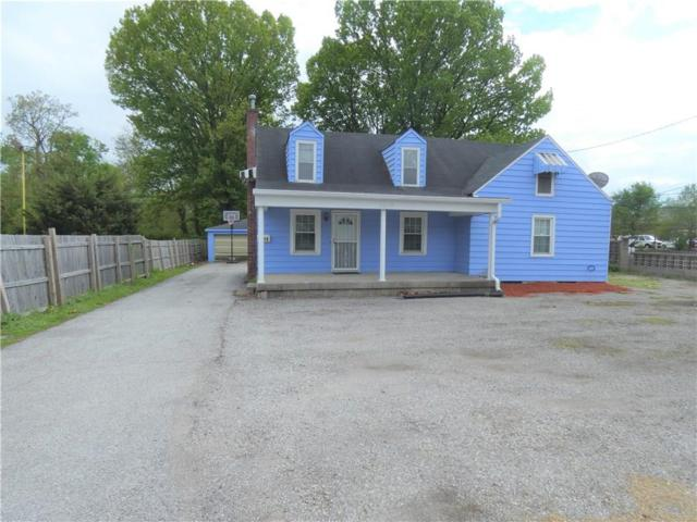 5219 W 10TH Street, Speedway, IN 46224 (MLS #21640627) :: Mike Price Realty Team - RE/MAX Centerstone