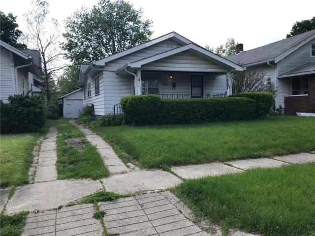 812 N Grant Avenue, Indianapolis, IN 46201 (MLS #21641003) :: AR/haus Group Realty