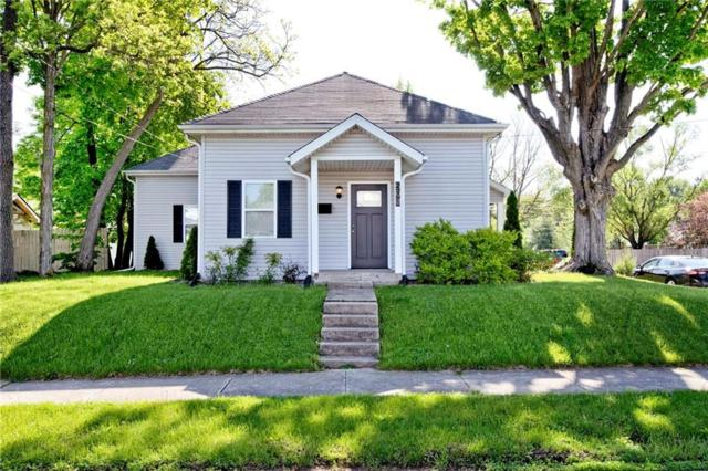 503 N Broadway Street, Greenfield, IN 46140 (MLS #21641027) :: Mike Price Realty Team - RE/MAX Centerstone