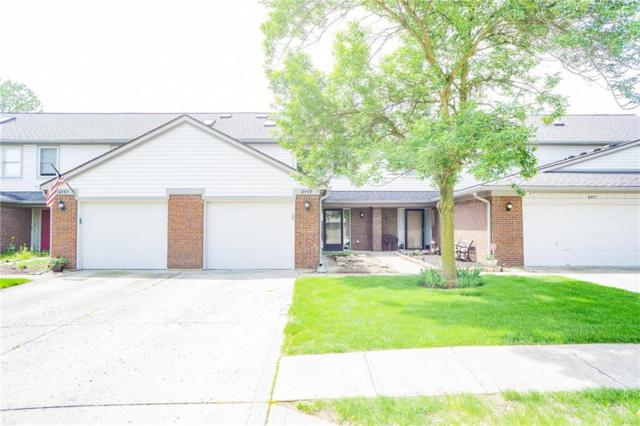 6449 W Bay Harbor Lane, Indianapolis, IN 46254 (MLS #21641235) :: The Indy Property Source