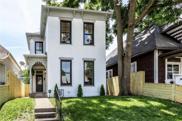 1229 Hoyt Avenue, Indianapolis, IN 46203 (MLS #21641237) :: AR/haus Group Realty