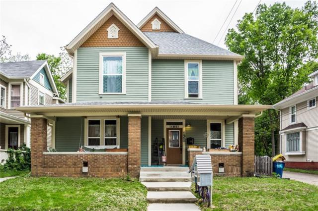 128 E 33RD Street, Indianapolis, IN 46205 (MLS #21641354) :: The Indy Property Source