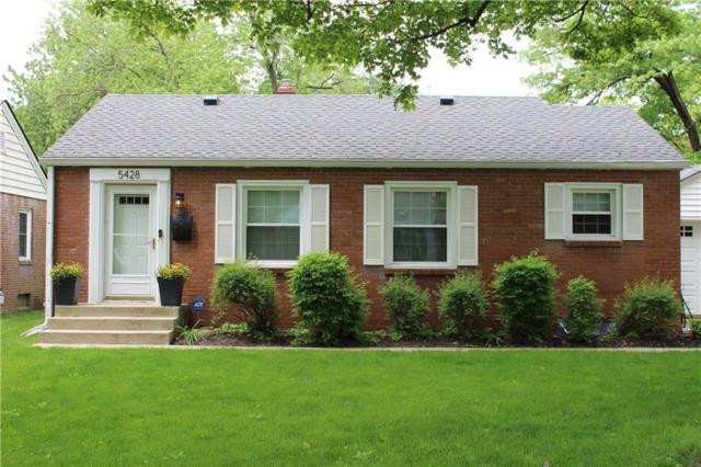 5428 Rosslyn Avenue, Indianapolis, IN 46220 (MLS #21641500) :: The Indy Property Source