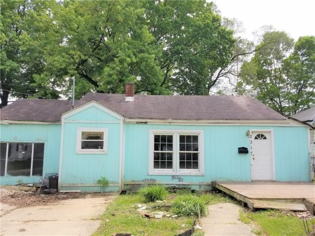 2317 Fowler Street, Anderson, IN 46012 (MLS #21641528) :: The ORR Home Selling Team