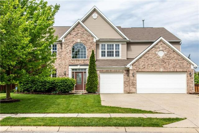12978 S Ambergate Drive, Fishers, IN 46037 (MLS #21641532) :: The Indy Property Source