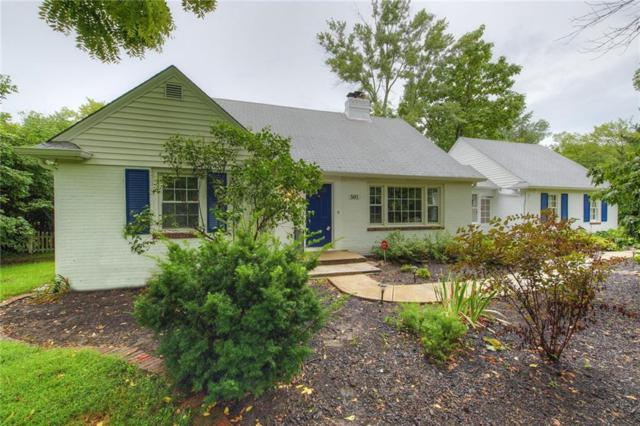 501 E 75TH Street, Indianapolis, IN 46240 (MLS #21641537) :: The Indy Property Source