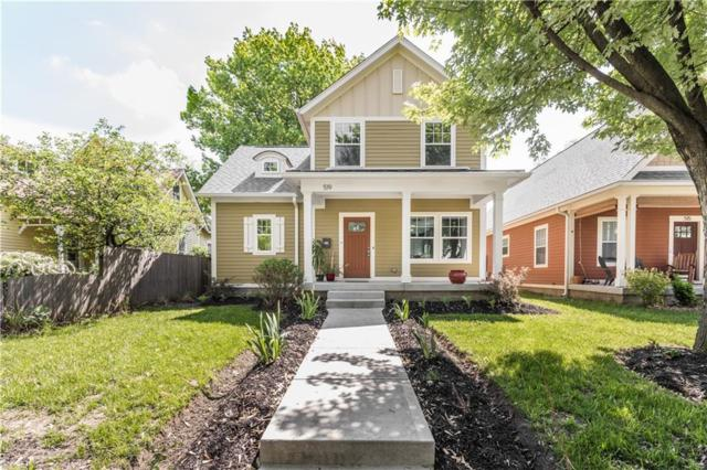 519 Jefferson Avenue N, Indianapolis, IN 46201 (MLS #21641552) :: The Indy Property Source