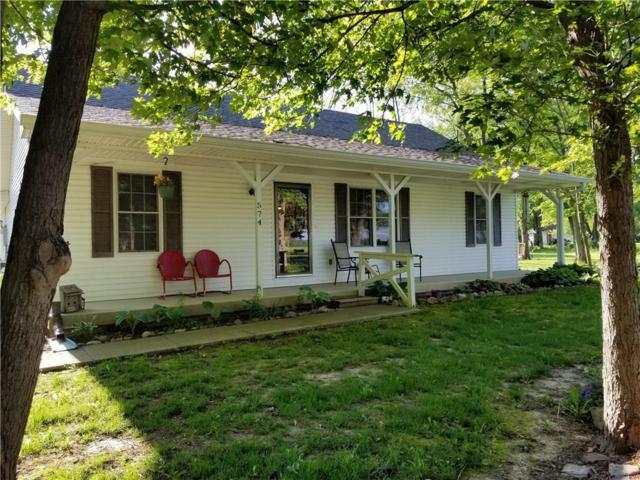 574 Gettysburg, Coatesville, IN 46121 (MLS #21641670) :: The Evelo Team