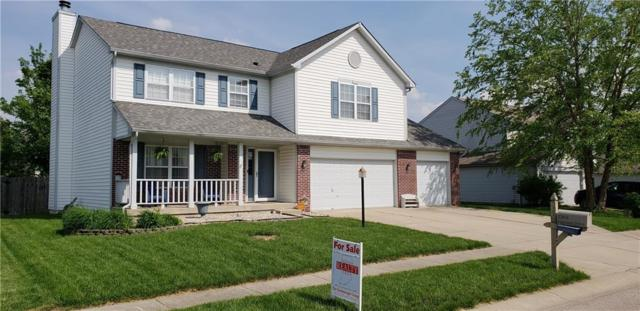 1369 Harrison Drive, Greenwood, IN 46143 (MLS #21641690) :: David Brenton's Team