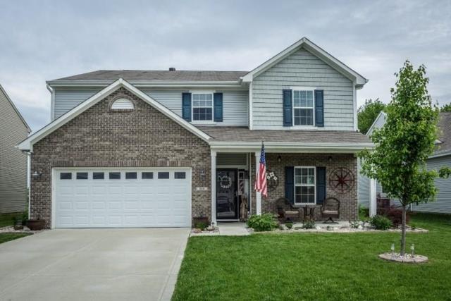 868 Briarstone Drive, Greenwood, IN 46143 (MLS #21641818) :: David Brenton's Team