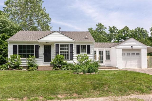 1803 E 66th Street, Indianapolis, IN 46220 (MLS #21641986) :: The Evelo Team