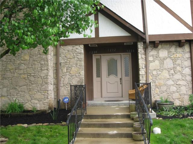 1232 Kings Cove Court, Indianapolis, IN 46260 (MLS #21642004) :: The Evelo Team