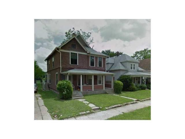 413 N Oxford Street, Indianapolis, IN 46201 (MLS #21642057) :: The Indy Property Source