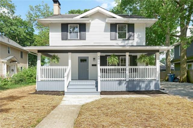 4005 Guilford Avenue, Indianapolis, IN 46205 (MLS #21642180) :: The Indy Property Source