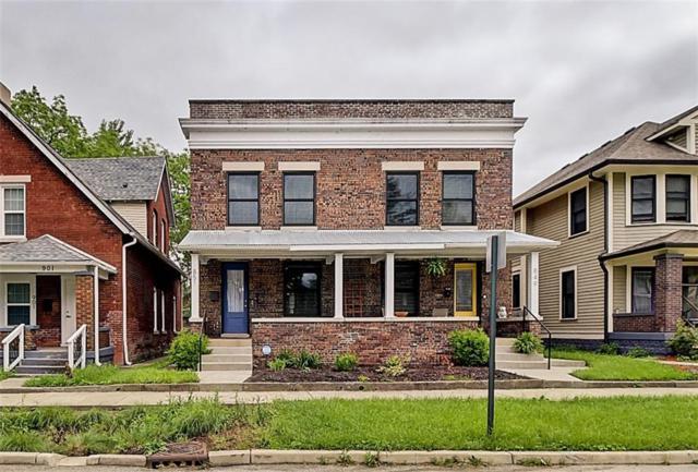 851 Jefferson Avenue, Indianapolis, IN 46201 (MLS #21642202) :: David Brenton's Team