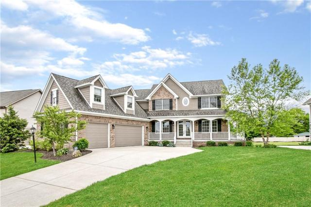 17065 Bluestone Drive, Noblesville, IN 46062 (MLS #21642219) :: Richwine Elite Group