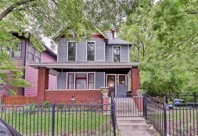 1841 N Delaware Street, Indianapolis, IN 46202 (MLS #21642257) :: Richwine Elite Group