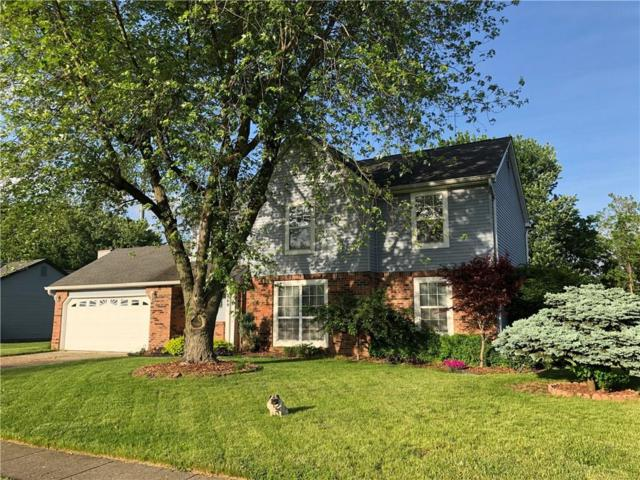 889 Sable Ridge Drive, Greenwood, IN 46142 (MLS #21642533) :: Richwine Elite Group