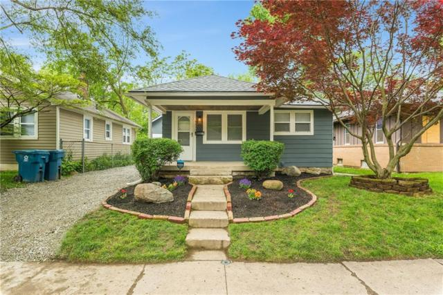 4250 Kingsley Drive, Indianapolis, IN 46205 (MLS #21642851) :: The Indy Property Source