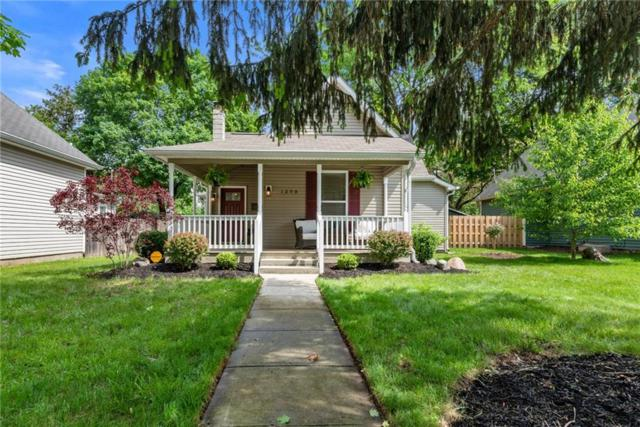 1308 Central Avenue, Noblesville, IN 46060 (MLS #21642977) :: Mike Price Realty Team - RE/MAX Centerstone
