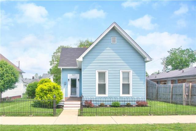 323 S Vine Street, Plainfield, IN 46168 (MLS #21643032) :: Mike Price Realty Team - RE/MAX Centerstone