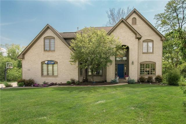 10583 Geist Ridge Court, Fishers, IN 46040 (MLS #21643412) :: Mike Price Realty Team - RE/MAX Centerstone