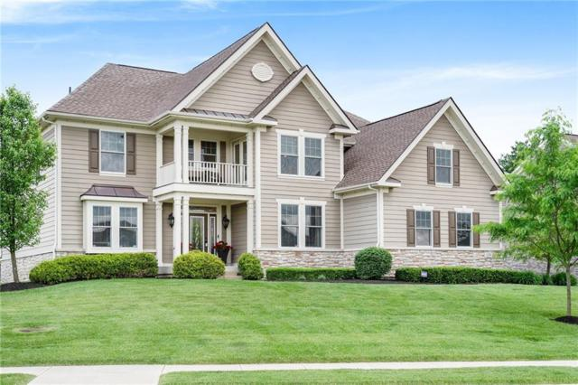 14250 W Overbrook Drive, Carmel, IN 46074 (MLS #21643631) :: AR/haus Group Realty