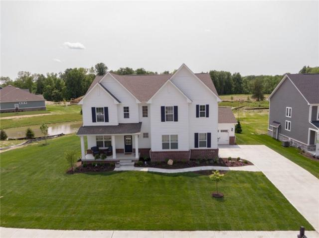 11050 Portage Woods Drive, Fishers, IN 46040 (MLS #21644228) :: Richwine Elite Group
