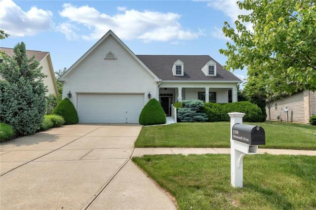 1350 Monmouth Drive, Westfield, IN 46074 (MLS #21644329) :: Mike Price Realty Team - RE/MAX Centerstone