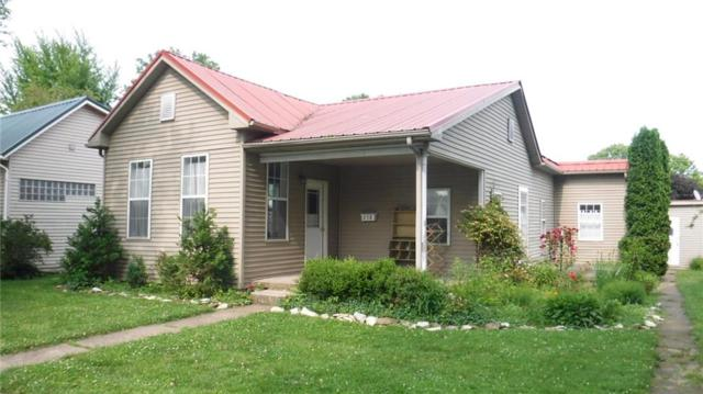 258 N Harrison Street, Spencer, IN 47460 (MLS #21645039) :: Mike Price Realty Team - RE/MAX Centerstone